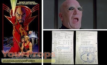 Flash Gordon original production material
