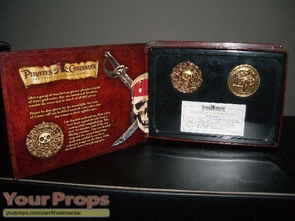 Pirates of the Caribbean movies Master Replicas movie prop