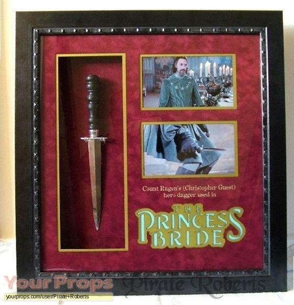 The Princess Bride original movie prop weapon