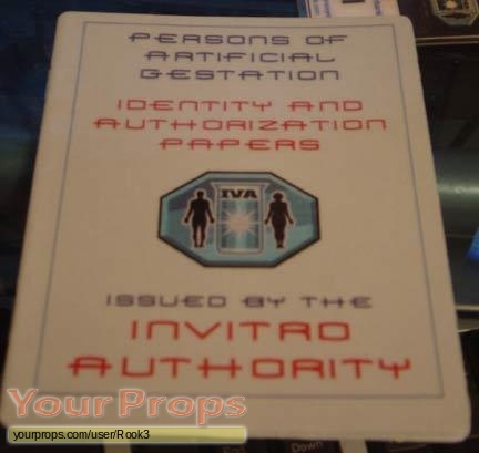 Space  Above and Beyond replica movie prop