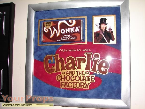 Charlie and the Chocolate Factory original movie prop