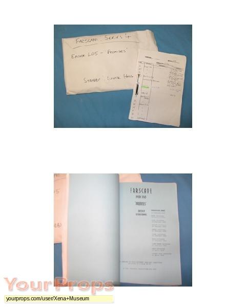Farscape original production material