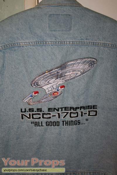 Star Trek  The Next Generation original film-crew items