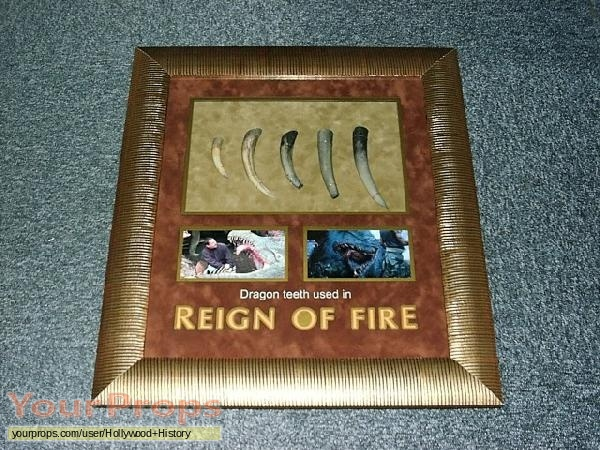 Reign of Fire original movie prop