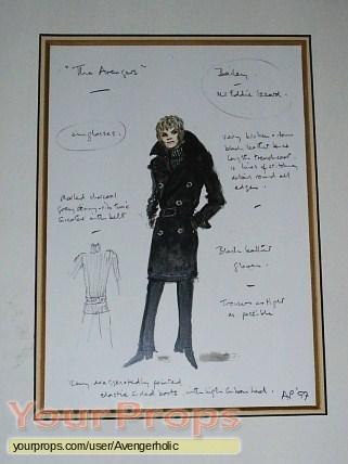 The Avengers original production artwork
