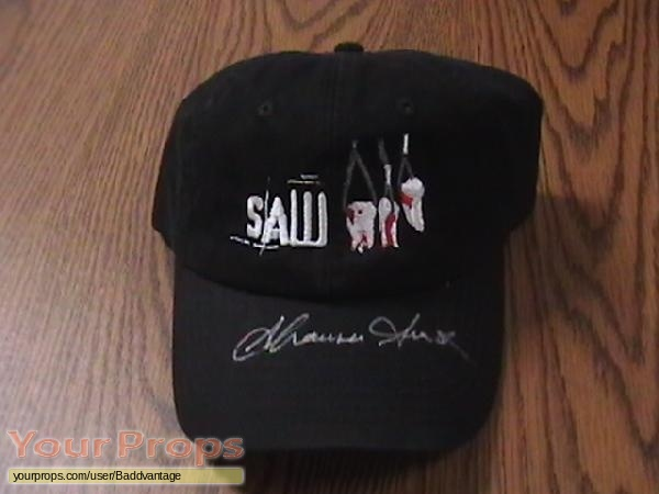 Saw III original film-crew items