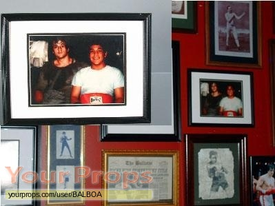 Rocky Balboa original movie prop