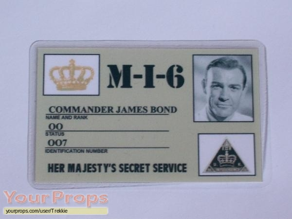 James Bond  From Russia With Love replica production material