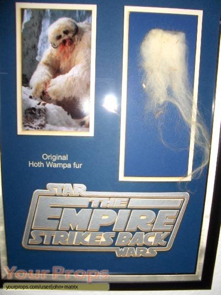 Star Wars  The Empire Strikes Back original movie prop