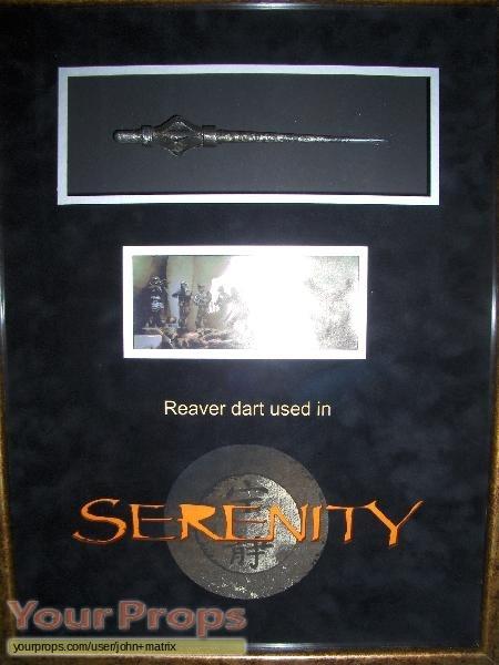Serenity original movie prop