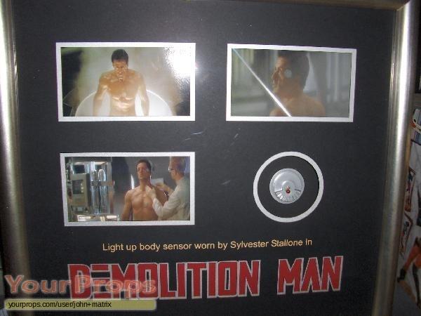 Demolition Man original movie prop