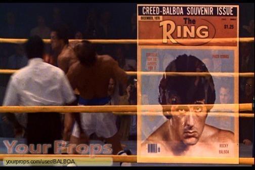 Rocky III original production material
