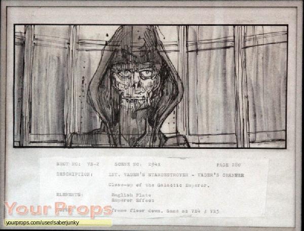 Star Wars  The Empire Strikes Back original production artwork