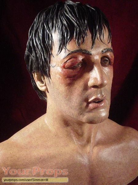 Rocky replica movie prop