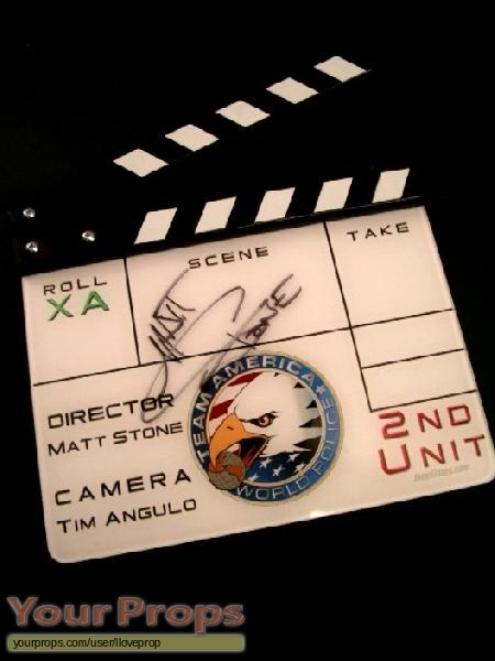 Team America  World Police original production material