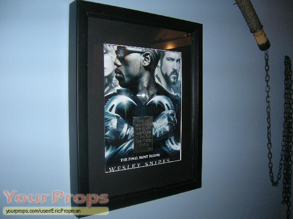 Blade  Trinity swatch   fragment movie prop