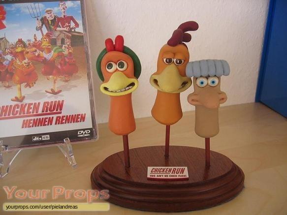 Chicken Run replica model   miniature
