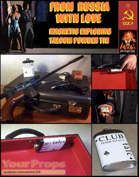 James Bond  From Russia With Love replica movie prop