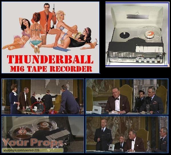James Bond  Thunderball replica movie prop