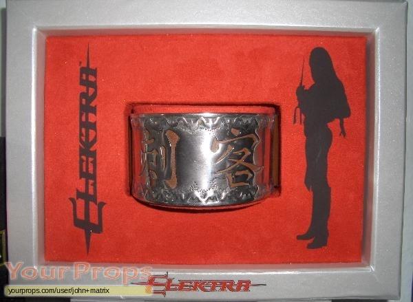 Elektra replica movie prop