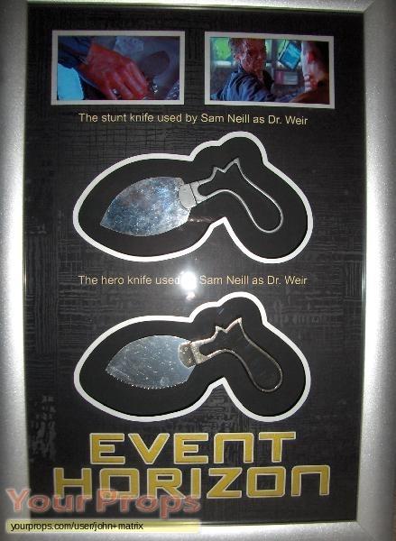 Event Horizon original movie prop weapon