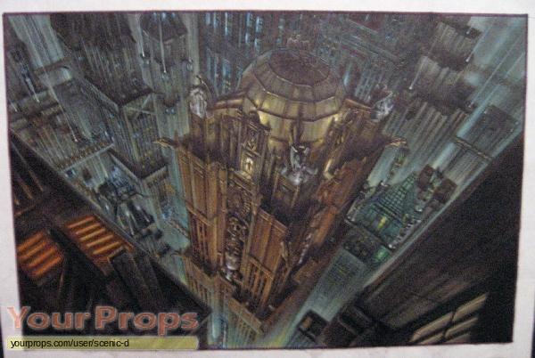 Batman   Robin original production artwork