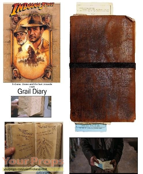 Indiana Jones And The Last Crusade replica movie prop