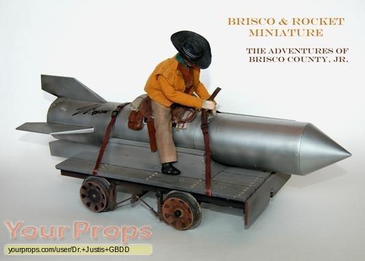 The Adventures of Brisco County Jr  original model   miniature
