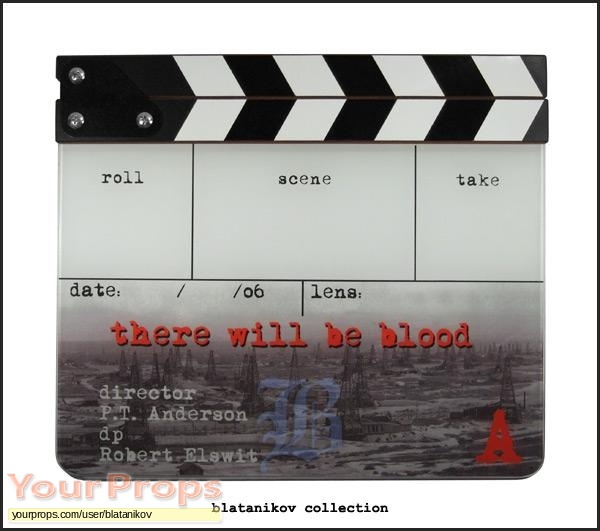There Will Be Blood original production material