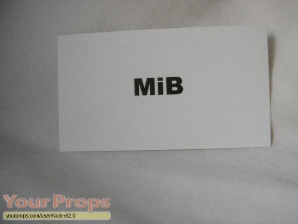 Men In Black Mib Buisness Card Replica Movie Prop