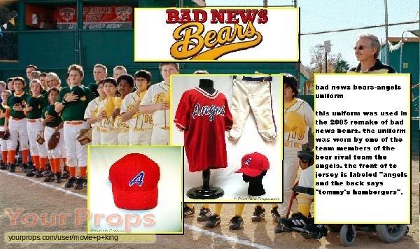 Bad News Bears original movie costume