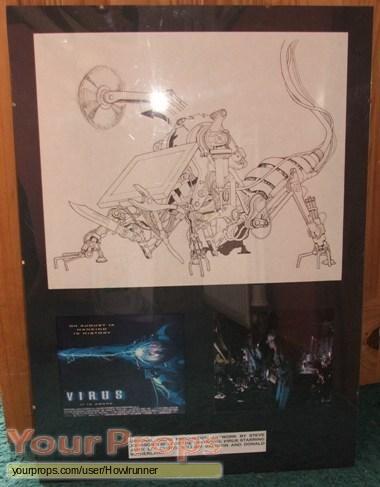 Virus original production artwork