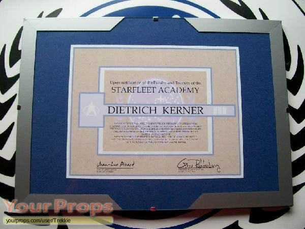 Star Trek  The Next Generation replica movie prop