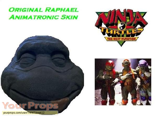 Ninja Turtles  The Next Mutation original movie costume