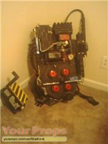 Ghostbusters made from scratch movie prop