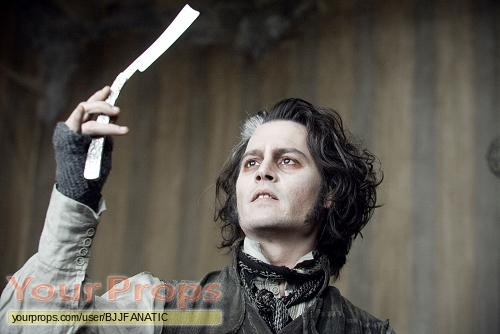 Sweeney Todd  The Demon Barber of Fleet Street replica movie prop