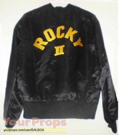 Rocky II original film-crew items
