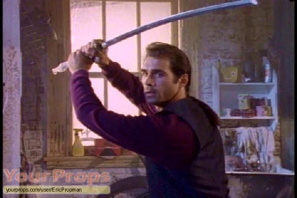 Highlander  The Series original movie prop weapon