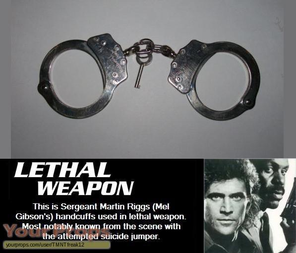 Lethal Weapon original movie prop