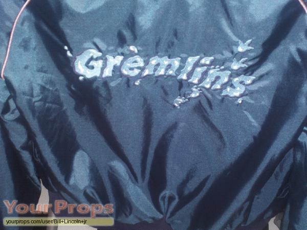 Gremlins original film-crew items