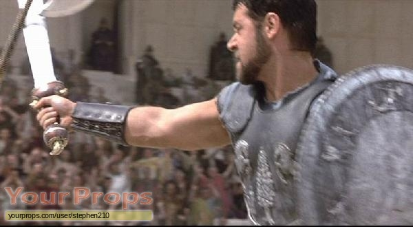 Gladiator replica movie prop weapon