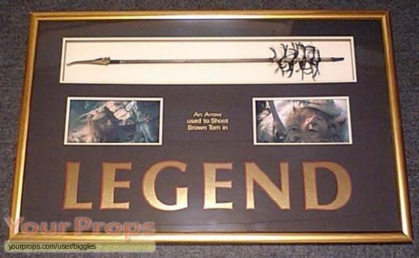 Legend original movie prop weapon