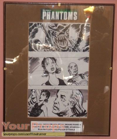 Phantoms original production artwork