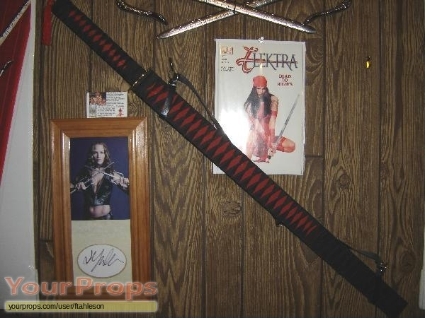 Elektra replica movie prop weapon