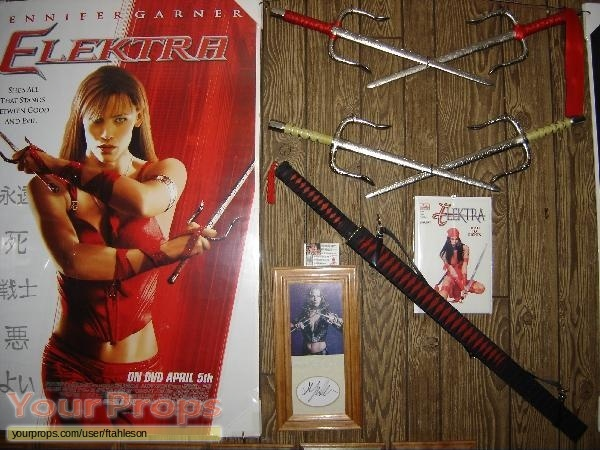 Elektra replica movie prop