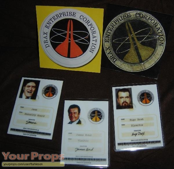 James Bond  Moonraker replica movie prop