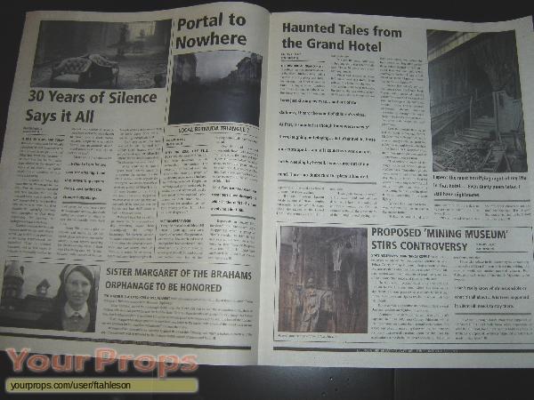 Silent Hill replica movie prop