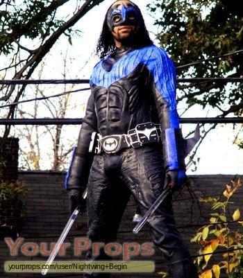 The Dark Knight replica movie costume & The Dark Knight Nightwing Authentic costume replica movie costume