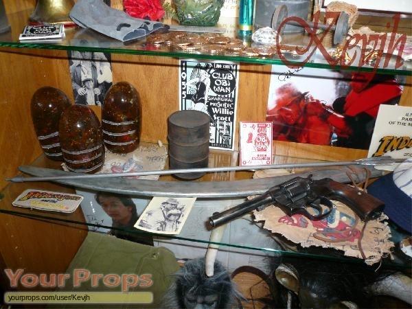 Indiana Jones And The Temple Of Doom original movie prop weapon