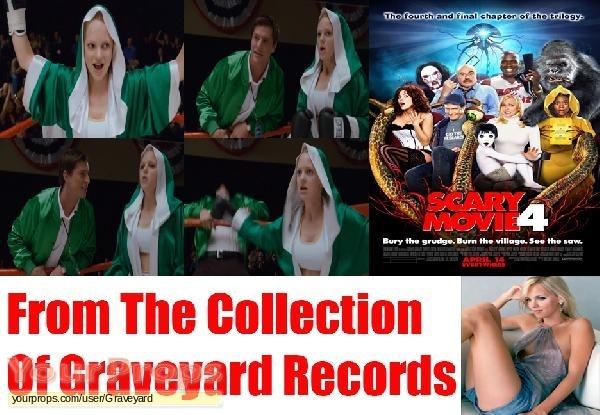 Scary Movie 4 original movie costume